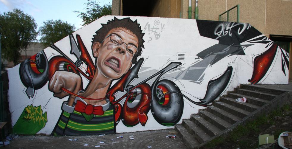 Belin - graffitero Belin610