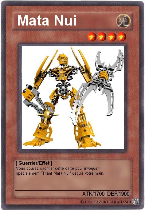[Fan-Art] Bionicle sur les cartes Yu-Gi-Oh Carte_11