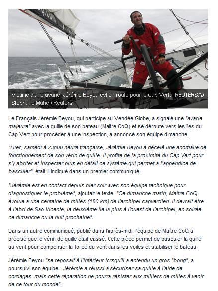 vendee globe 2012 - Page 2 Captur17