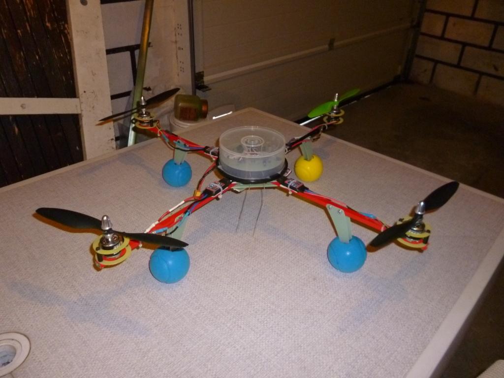 Les Mutli-rotors des membres du club Quadri12