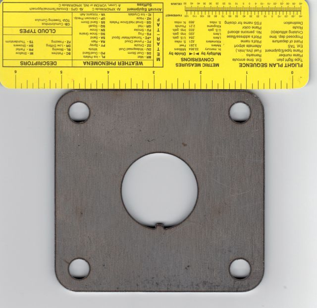 Hydroboost mounting plate Htdrob11