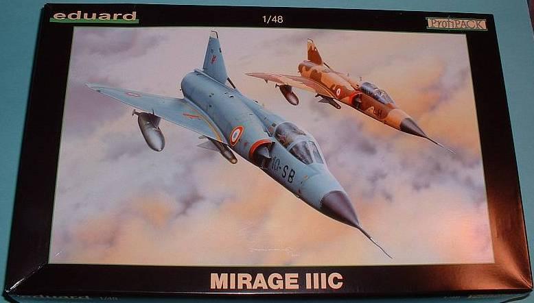Le Mirage IIIC/CJ  Eduard10
