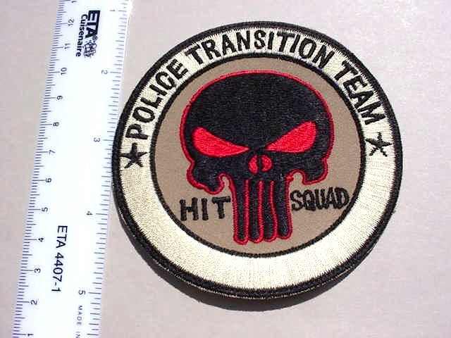 Iraq Police Transition Team - Theatre Made Patch Mvc-0147