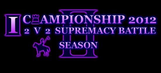 Aoe3]I[Championship 2v2 Sup Tournament reg started Ichmap10