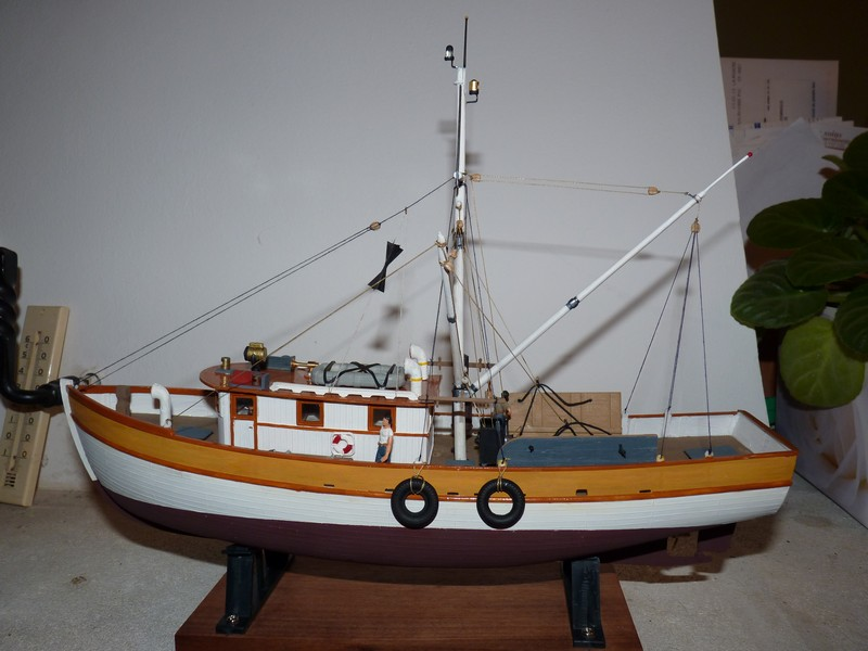Crevettier us Golfe du Mexique 1950-1960 1/60 . P1030242