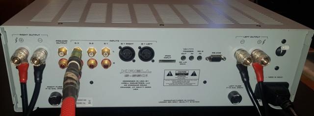 KRELL S-550i Integrated Amplifier 20200214