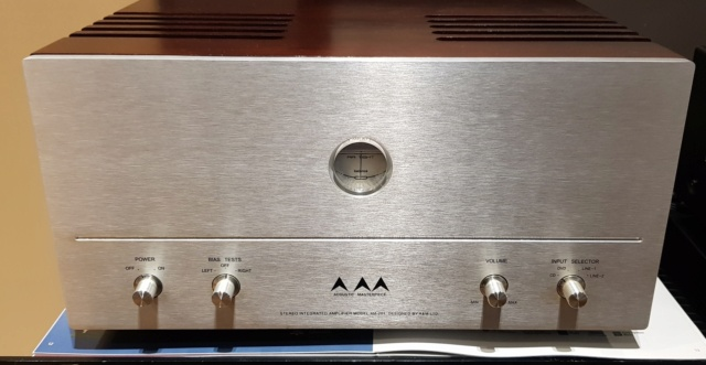 Acoustic Masterpiece AM-201 Tube Amplifier (Air Tight) 20200514