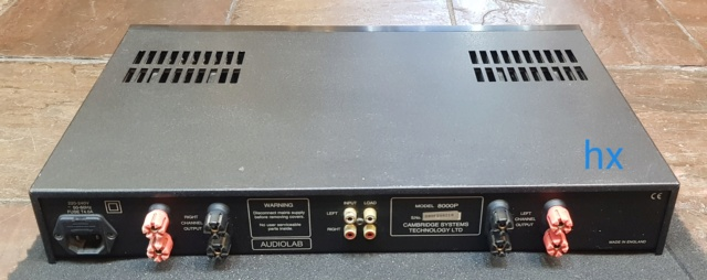 Used Audiolab 8000P Power Amplifier 8000p_10