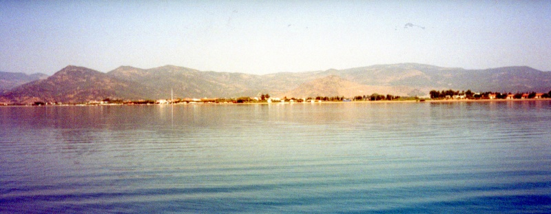 Greece, Island of Lesvos, Skala Kalonni, Molyvos 2000 scanned in picture Img29110