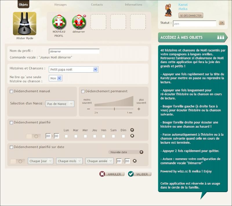 Applications Karotz - Page 4 Joyeux10