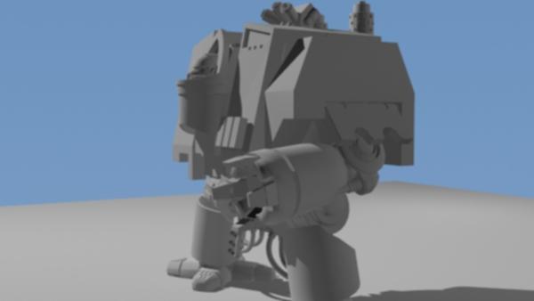Dreadnought Vénérable / Venerable Dreadnought Forump35