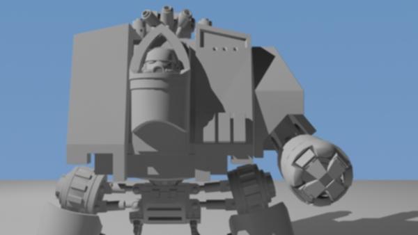 Dreadnought Vénérable / Venerable Dreadnought Forump36