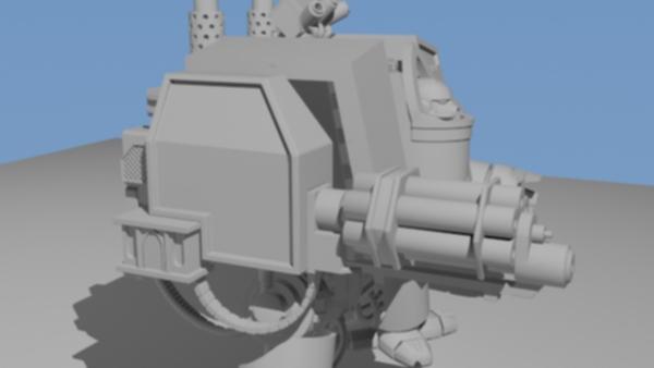 Dreadnought Vénérable / Venerable Dreadnought Forump37