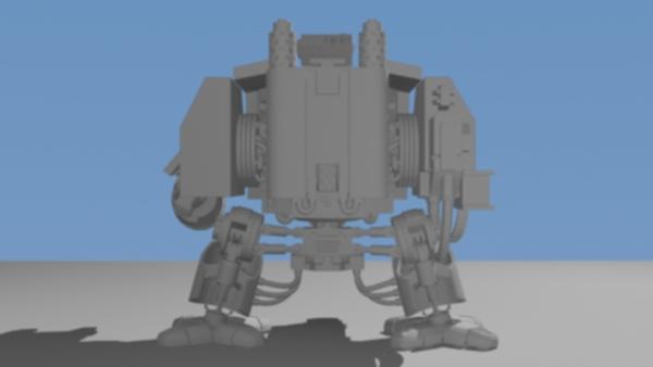 Dreadnought Vénérable / Venerable Dreadnought Forump40