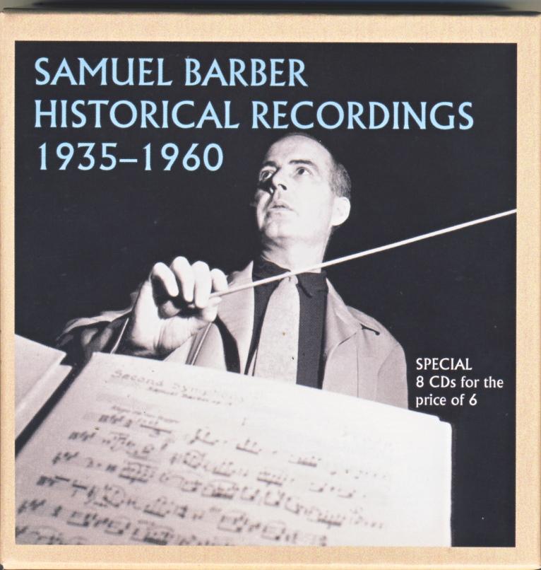 Autour de Samuel Barber (1910-1981) - Page 9 Cover110