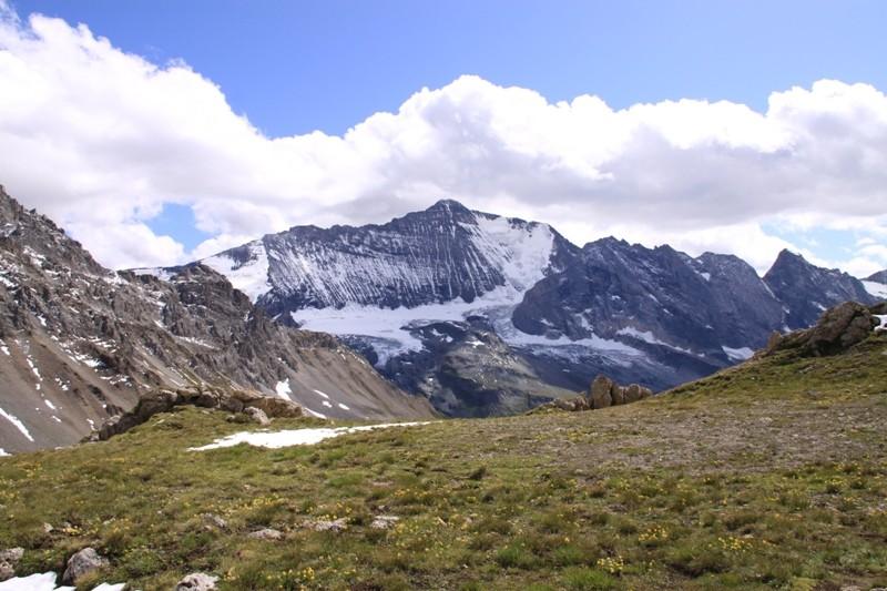 Tignes - col du Palet - lac des Échines Img_0312
