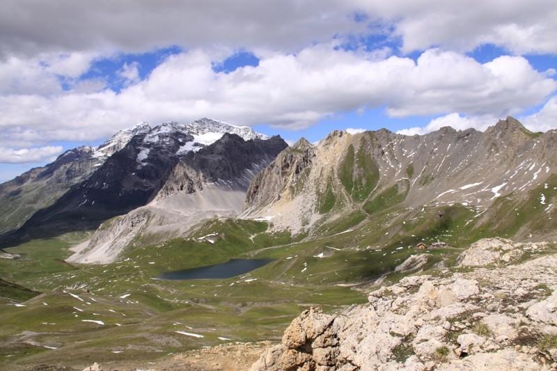 Tignes - col du Palet - lac des Échines Img_0313