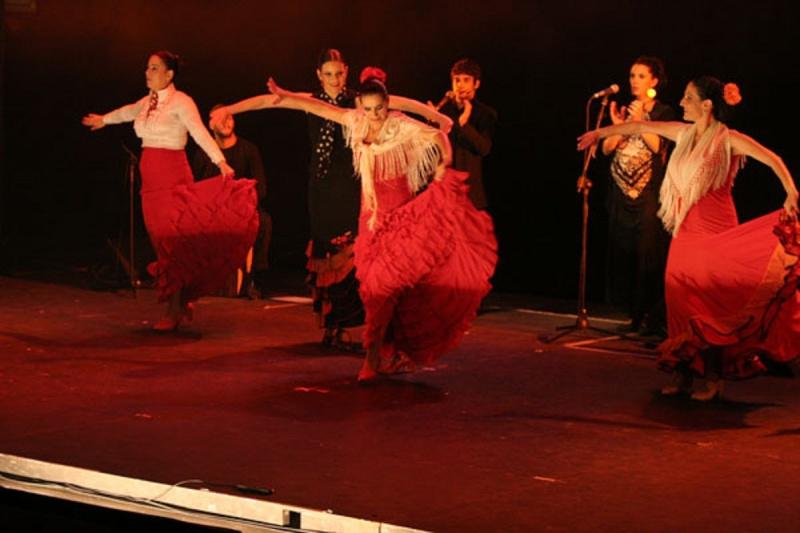 TABLADO FLAMENCO  AUTENTICO EN SUZANE DALAL EN TEL-AVIV Event-13