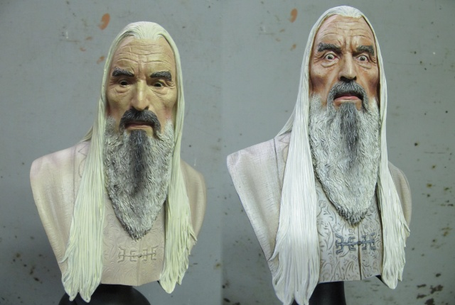 Repaint Buste Weta Sideshow . Sarou610