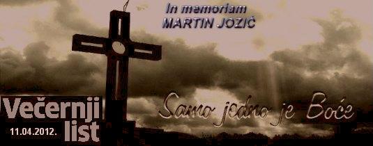 In Memoriam - Martin Jozić Martin25