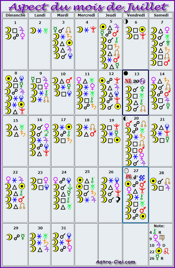 Aspect du mois de Juillet - Page 4 Calend12