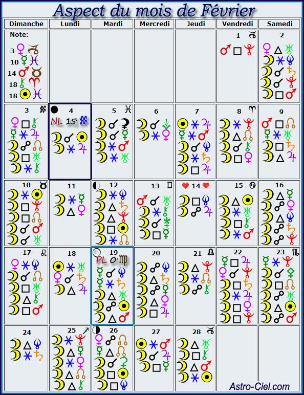 Aspect du mois de Février - Page 11 Calend25