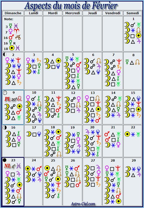 Aspects du mois de Février - Page 6 Calend56