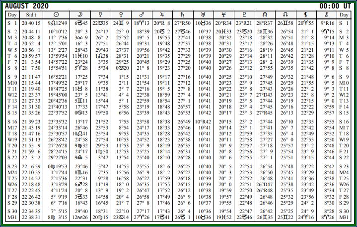 Aspects du mois d'Août - Page 17 Calend69