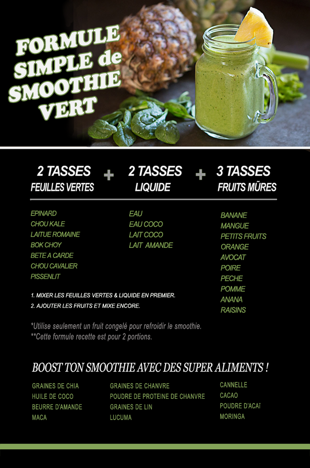 Smoothie santé Smooth12
