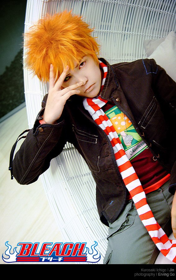 Anime Cosplay Chicos Bleach10