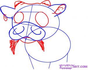[TÀI NGUYÊN] Vẽ một chú bò sữa cực dễ thương ^^ Bocon410