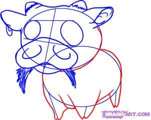 [TÀI NGUYÊN] Vẽ một chú bò sữa cực dễ thương ^^ Bocon510