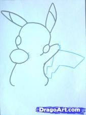 [TÀI NGUYÊN] Vẽ nhân vật Pikachu Pikach13
