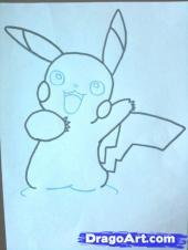 [TÀI NGUYÊN] Vẽ nhân vật Pikachu Pikach14