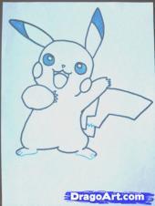 [TÀI NGUYÊN] Vẽ nhân vật Pikachu Pikach15