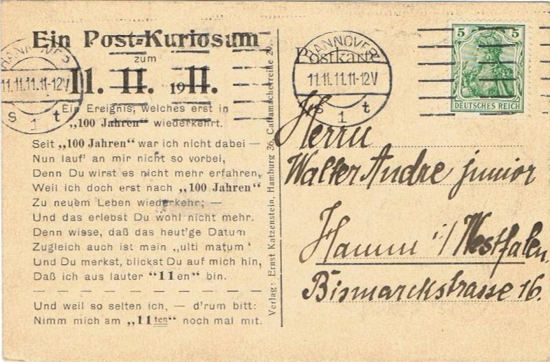 Liechtenstein - 11.11.11 Jahrhundertdatum des Faschings - Seite 2 1911_111