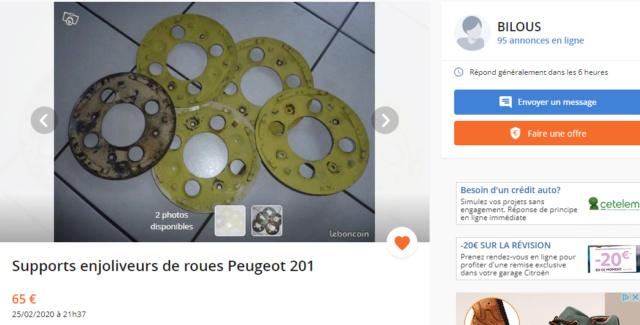 Cherche cache de moyeu de roue et un enjoliveur et une attache pour la roue de secours Suppor10