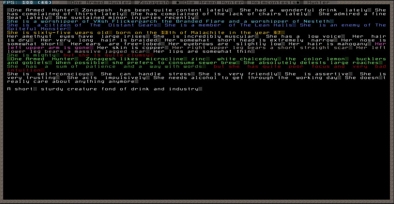Dwarf Fortress General Hunter10