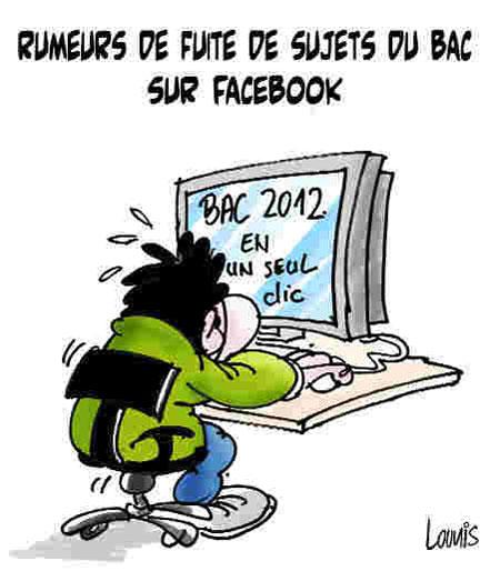 caricatures spéciales BAC 2012 Bac310