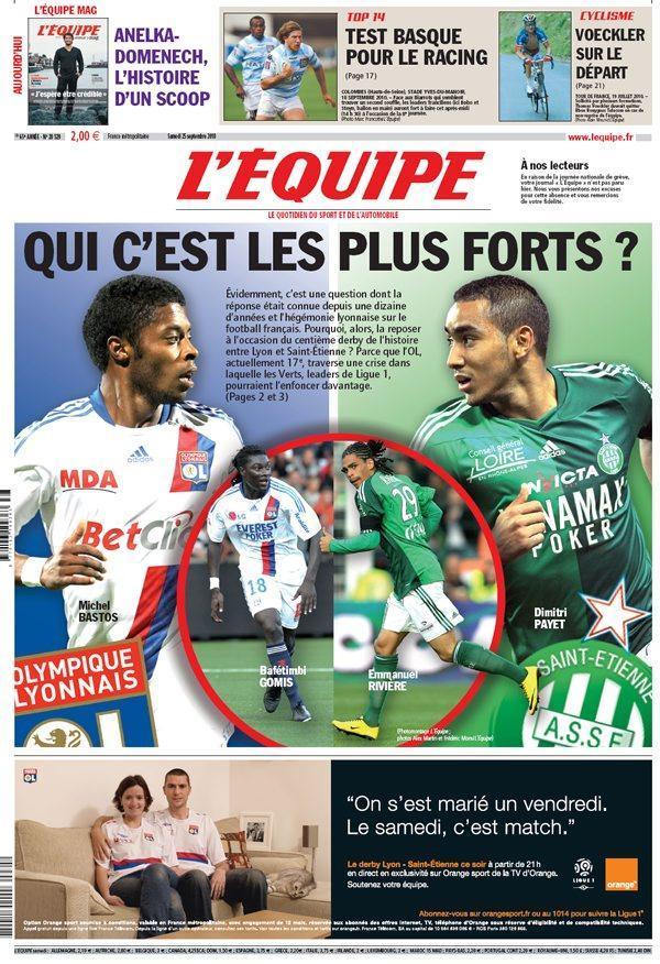 RA EXEMPT: derby supporters stéphanois vs supporters lyonnais Uneequ10