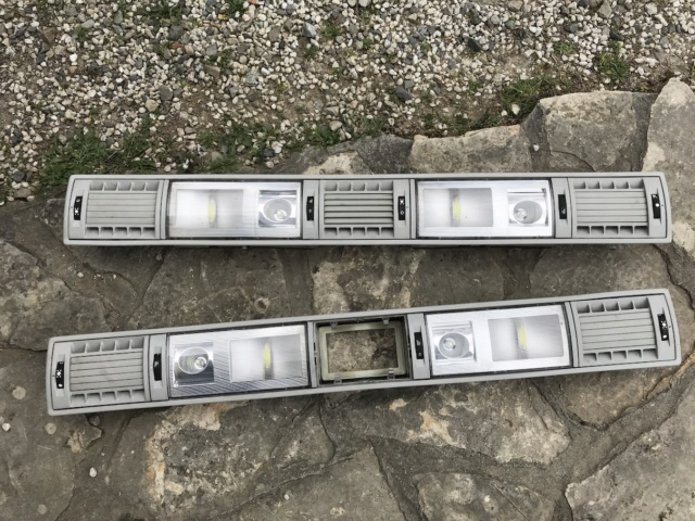 Rampes de ventilation avec plafonnier Caravelle Img_0312