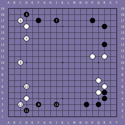 Le fuseki de shusaku 2 Shusak28