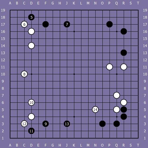 Le fuseki de shusaku 2 Shusak29