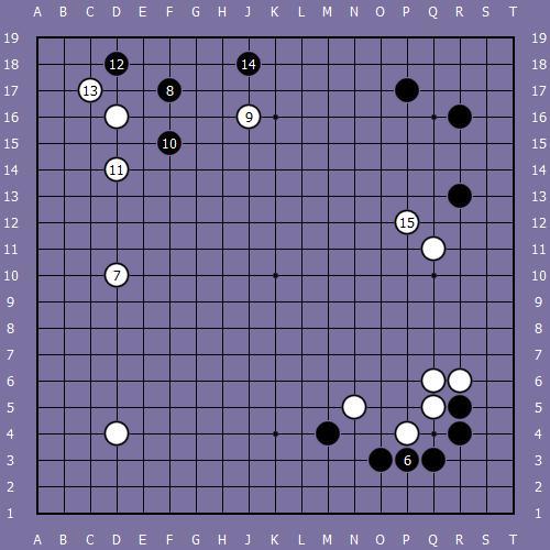 le fuseki de shusaku 3 Shusak38