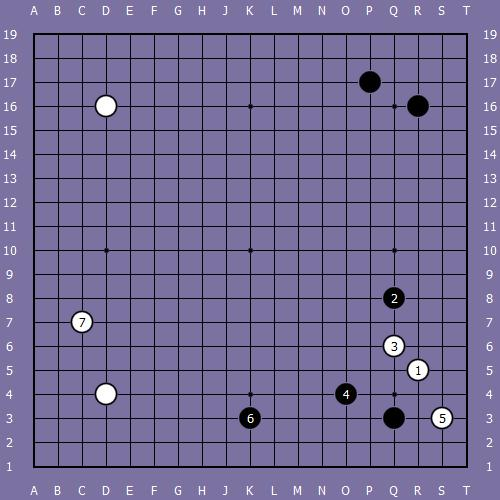 Le fuseki de shusaku 4 Shusak45