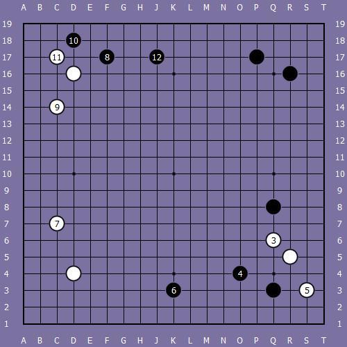 Le fuseki de shusaku 4 Shusak47