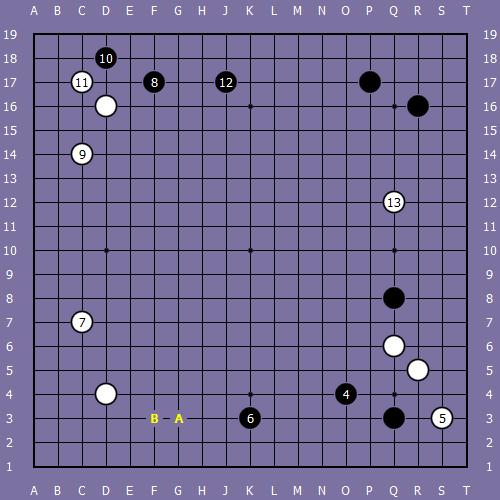 Le fuseki de shusaku 4 Shusak48