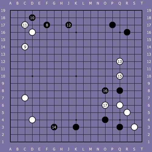 Le fuseki de shusaku 4 Shusak49