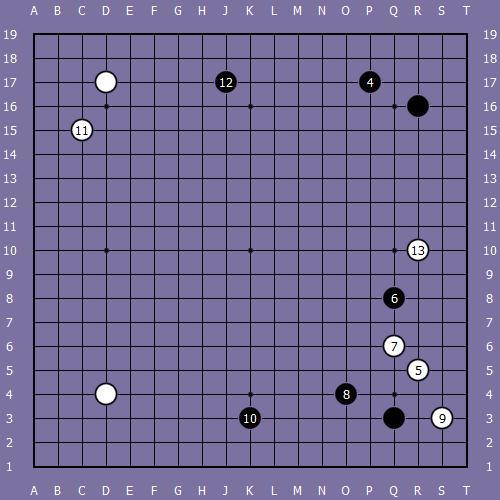Le fuseki de shusaku 5 Shusak52