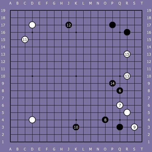 Le fuseki de shusaku 5 Shusak53